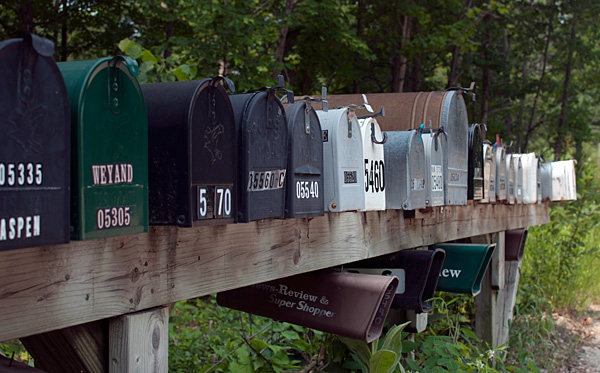 mailboxes 12